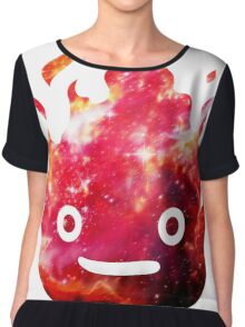 CALCIFER - Howl's Moving Castle Fire Chiffon Top