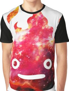 CALCIFER - Howl's Moving Castle Fire Graphic T-Shirt