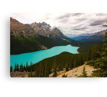 Peyto Lake Canvas Print