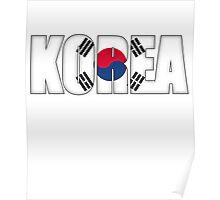 South Korea Flag Poster