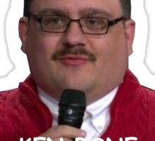 Ken Bone 2016 campaign Shirts, Posters and Stickers Sticker