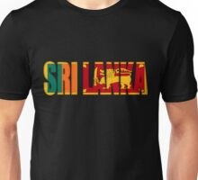 Sri Lanka Flag Unisex T-Shirt