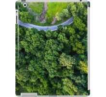 Top Down - Roads and Forest iPad Case/Skin