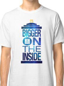 It's Bigger on the Inside - Tardis Galaxy Classic T-Shirt