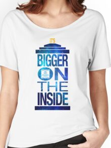 It's Bigger on the Inside - Tardis Galaxy Women's Relaxed Fit T-Shirt