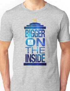 It's Bigger on the Inside - Tardis Galaxy Unisex T-Shirt
