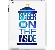 It's Bigger on the Inside - Tardis Galaxy iPad Case/Skin