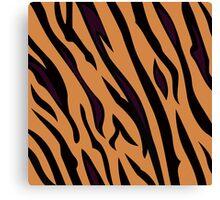 Tiger original designers collection : beige and black Canvas Print