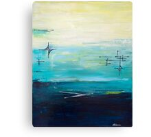 Contemporary mid-century abstract  Canvas Print