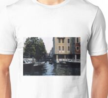 Traffic on Grande Canale Venice Italy 19840729 0064  Unisex T-Shirt