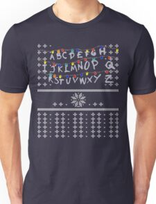 ST Lights Ugly Sweater Unisex T-Shirt
