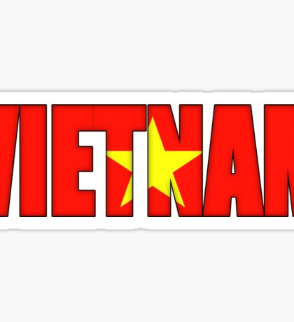 Viet nam Flag Sticker