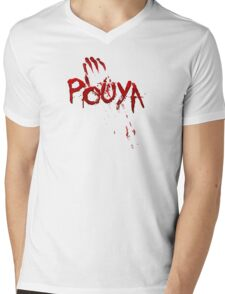 Pouya Blood Mens V-Neck T-Shirt