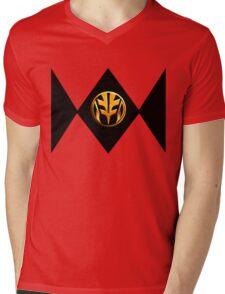 White Power Ranger Mens V-Neck T-Shirt