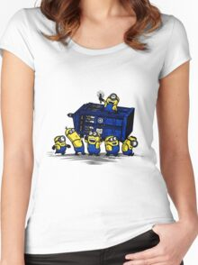 Time Steal - Doctor Who Mashup Women's Fitted Scoop T-Shirt