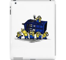 Time Steal - Doctor Who Mashup iPad Case/Skin