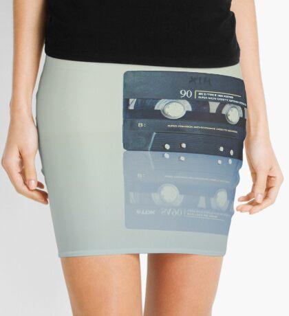 Cassette Reflection Mini Skirt