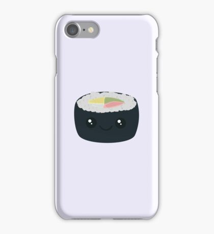 Smiling Sushi with Vegetables iPhone Case/Skin