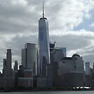 One World Trade Center, Lower Manhattan Skyline, New York City by lenspiro