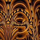 Curvilinear Project No. 309 ( African Eye ) by CurvilinearArt