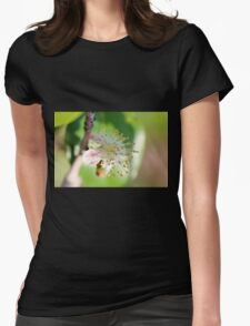 Single Blossom Womens Fitted T-Shirt