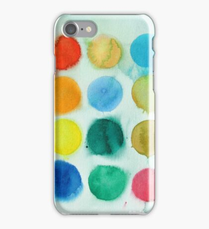 Watercolour Paints 1 iPhone Case/Skin