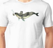 Fancy Whale Unisex T-Shirt