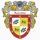 Acevedo Coat of Arms/Family Crest:  by William Martin