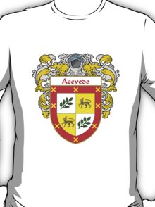 Acevedo Coat of Arms/Family Crest:  T-Shirt
