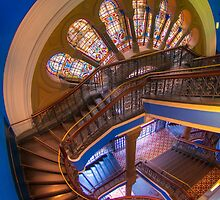 The Grand Staircase, Queen Victoria Building, Sydney by Erik Schlogl
