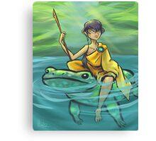 Downriver Journey Canvas Print