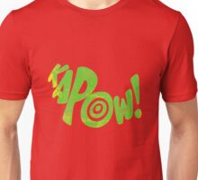 Kapow! Superhero sound effect Unisex T-Shirt