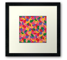 Fun Beans Framed Print