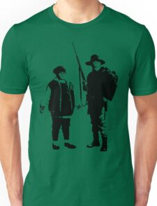 Ricky Baker and Uncle Hec, Hunt for the Wilderpeople Unisex T-Shirt