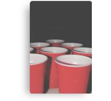 Pong Canvas Print