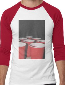Pong Men's Baseball ¾ T-Shirt