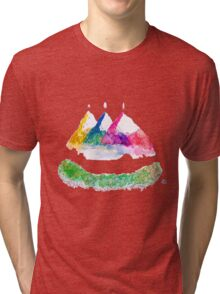 Only ONE mountain Tri-blend T-Shirt