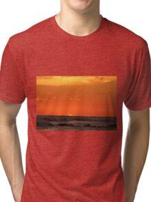 Jetty Sunset Tri-blend T-Shirt