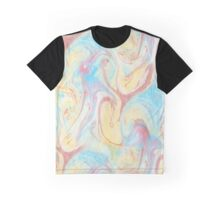 Flame Marble Graphic T-Shirt