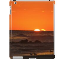 Sunset with a Chaser iPad Case/Skin