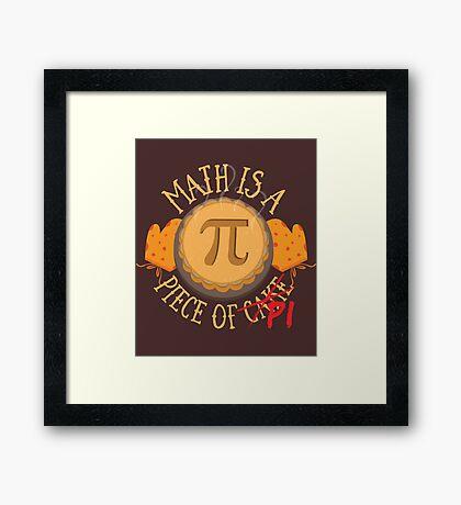 Math Pi  Framed Print