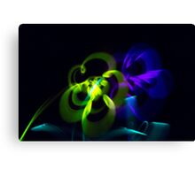 Blooming Lights Canvas Print