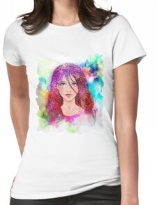 Imagination of the artist / creative Womens Fitted T-Shirt