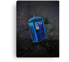 Lost TARDIS Canvas Print