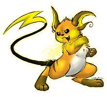 Pokemon: Raichu Photographic Print