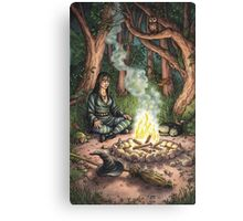 Everyday Witch Tarot - The Hermit Canvas Print