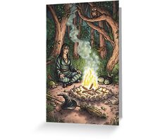 Everyday Witch Tarot - The Hermit Greeting Card