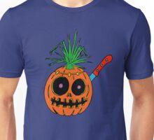 Weird Halloween Jack-o-Lantern Unisex T-Shirt