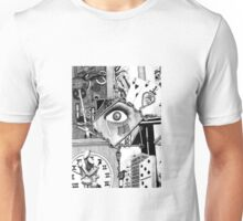A Cacophony of Intrusive Thoughts Unisex T-Shirt