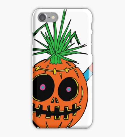 Weird Halloween Jack-o-Lantern iPhone Case/Skin